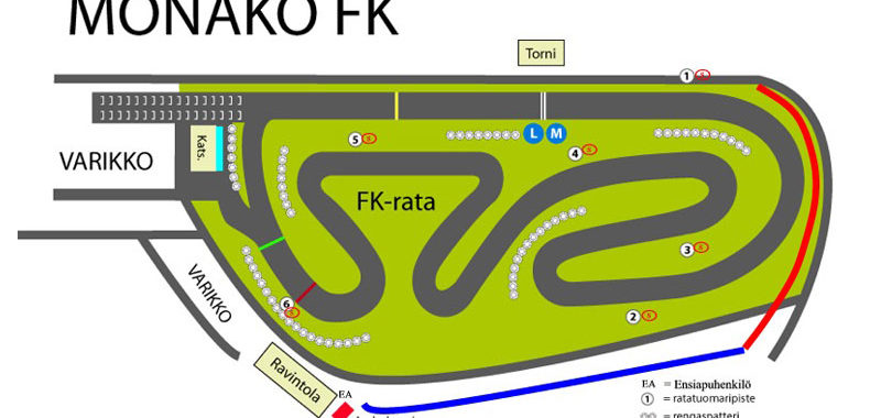 Seuraavana Monako SM-kilpailut 20-21.5