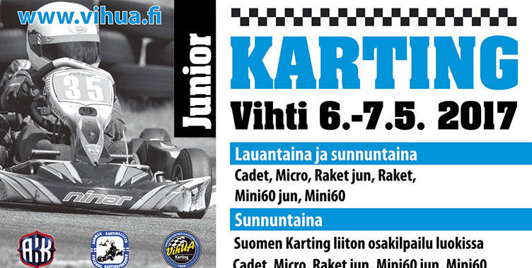 Vihti Karting 7.5.2017 Video