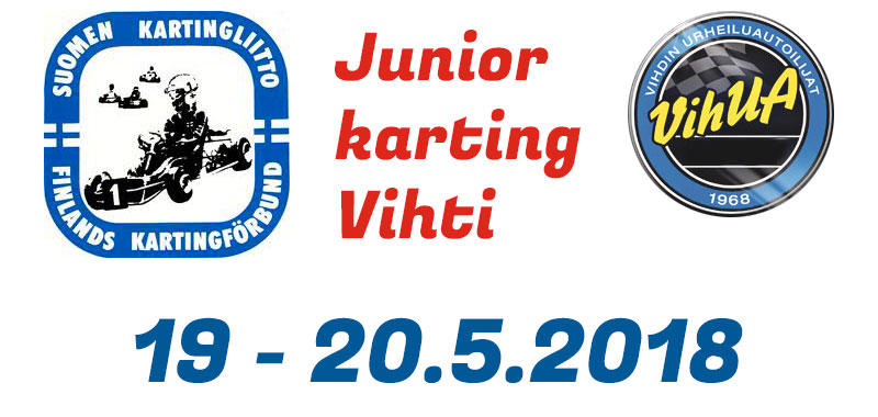 Junior Karting Vihti 20.5.2018 - Video