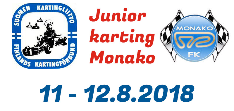 Junior Karting Monako 11-12.8.2018 - Kuvat