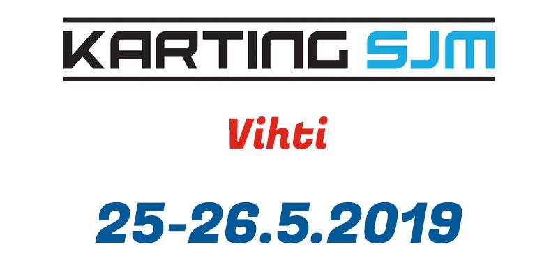 Karting SJM Vihti 25-26.5.2019
