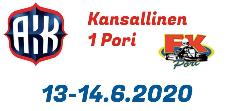 Kansallinen 1 / 13-14.6.2020 - Pori - Videot