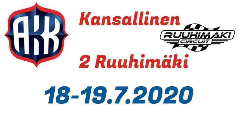 Kansallinen 2 / 18-19.7.2020 - Ruuhimäki - Kilpailu