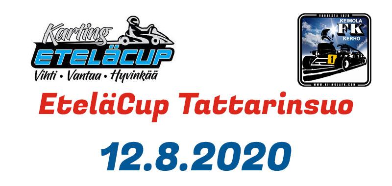 EteläCup 12.8.2020 - Tattarinsuo - Kuvat